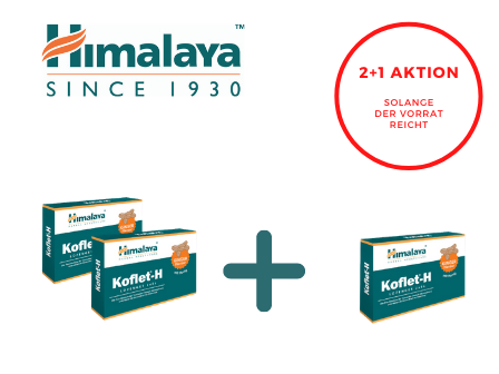 Koflet-H Pastillas Himalaya de jengibre 2+1