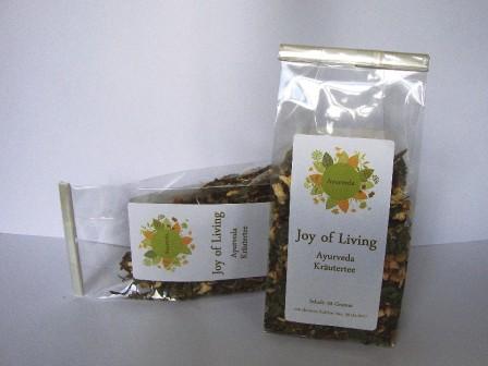 Ayurveda-Tee Joy of Living 50g
