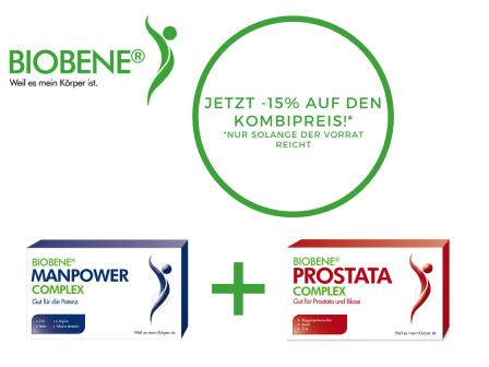AKTION: DAS Duo für den Mann JETZT 15 % sparen