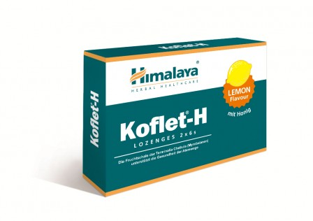 Koflet-H Lozenges 2x6 Lemon Himalaya