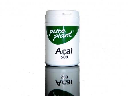 Acai Kps 500mg Pure Plant