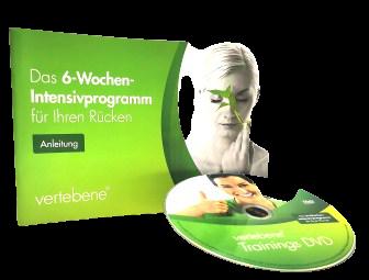 Vertebene 6-weeks backtrainig instructions + DVD
