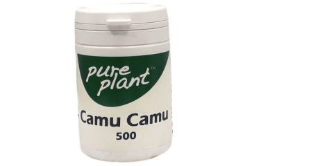 Camu Camu Kps 500mg Pure Plant
