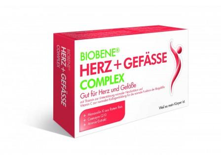 BIOBENE® Herz + Gefässe Complex 60 Kps.