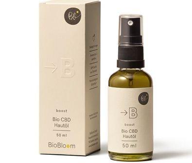 Organic Hemp Cosmetics body oil 50ml