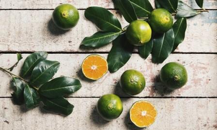 Mandarine grün