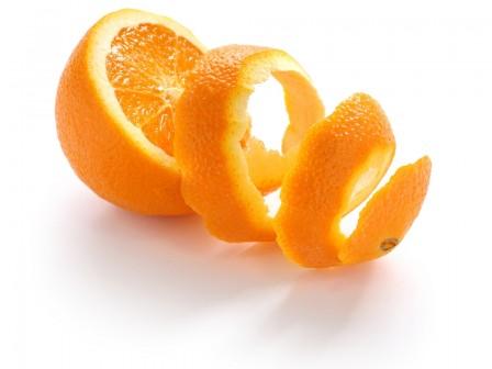Orangenschale, süß brasil.