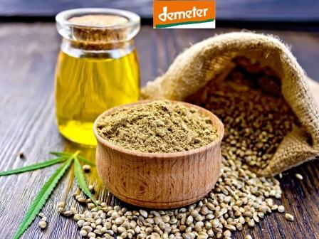 Aceite de Cánamo Premium Orgánico DEMETER