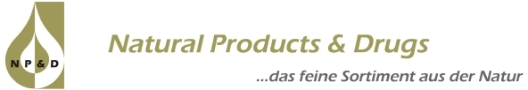 Natural Products & Drugs...das feine Sortiment aus der Natur